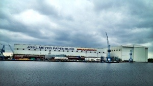Meyer-Werft in Papenburg